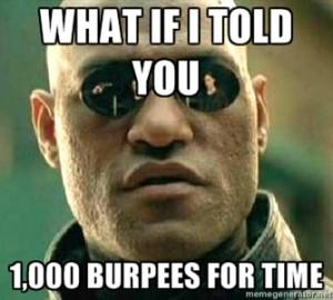 1000 burpees